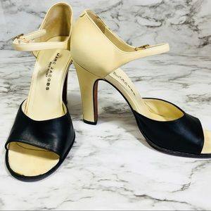 MARC JACOBS Open-Toe Mary Jane's Size 37.5